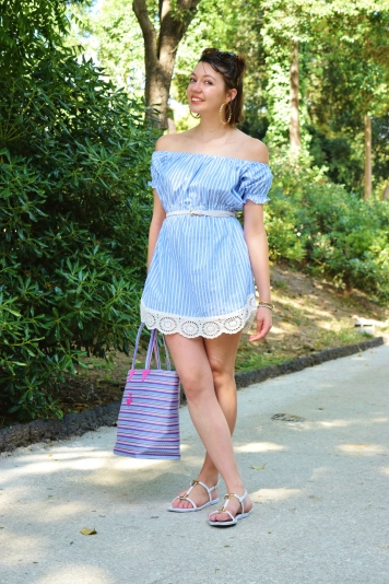 DIY shirt dress 030