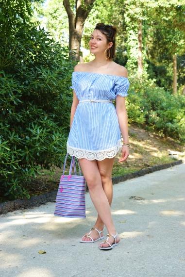 DIY shirt dress 030