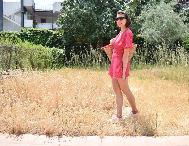 Look pink playsuit 007