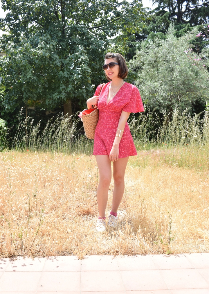 Look pink playsuit 016