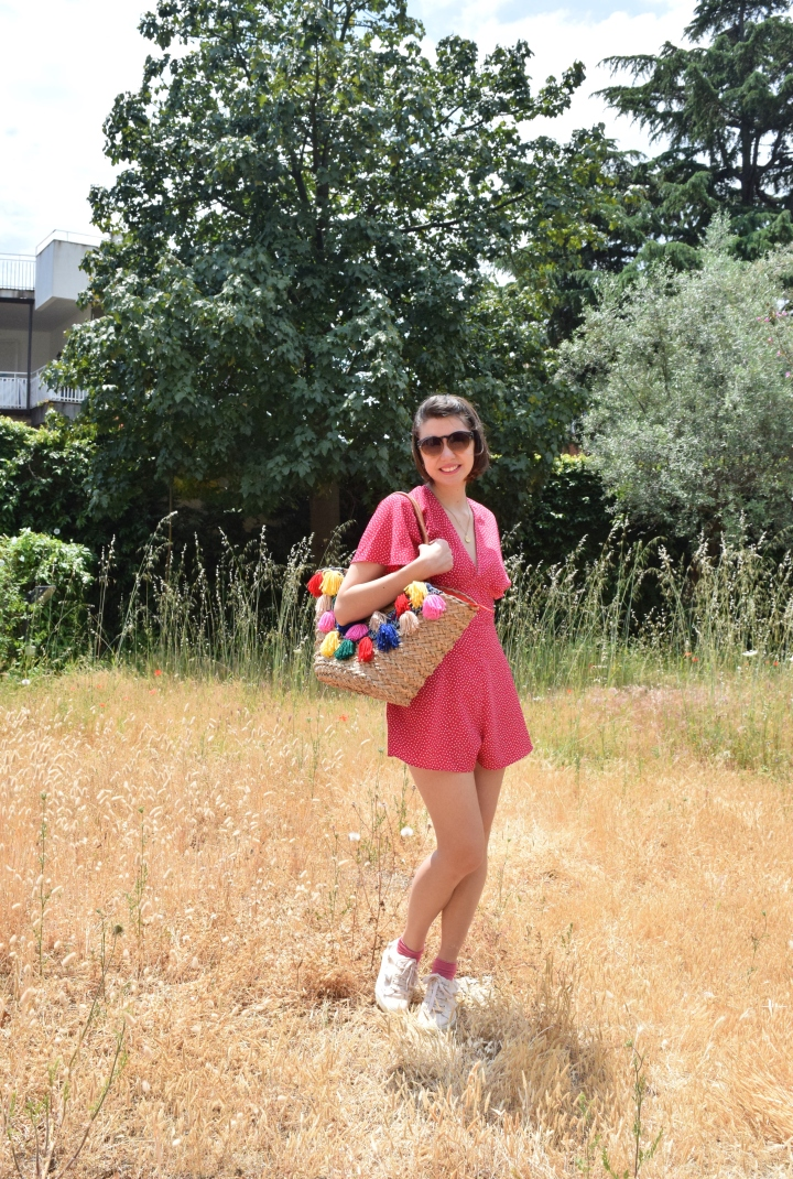 Look pink playsuit 017