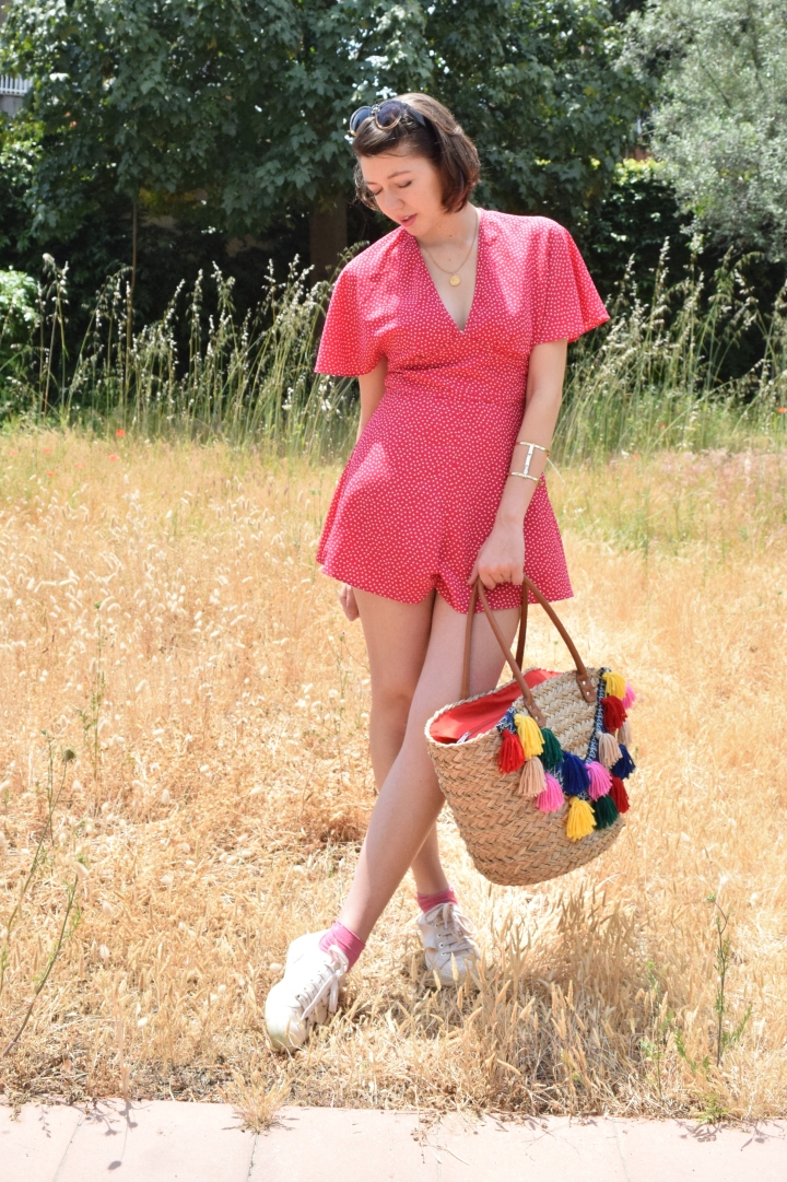 Look pink playsuit 023