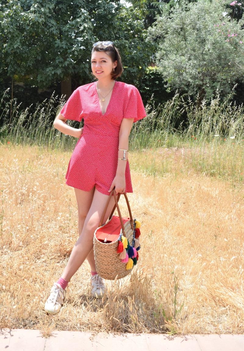 Look pink playsuit 024