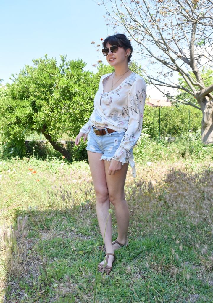 look flower shirt 015