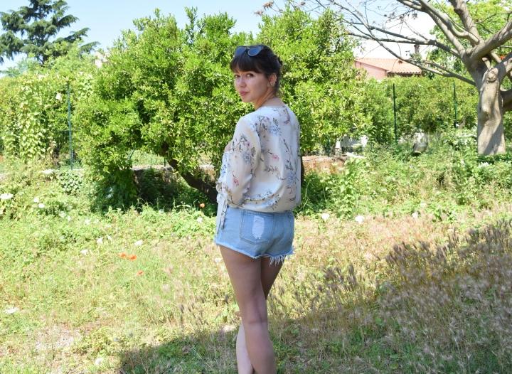 look flower shirt 051