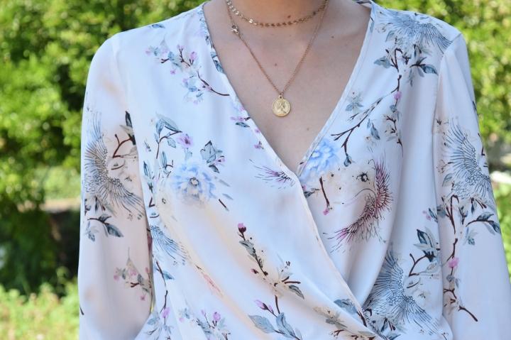 look flower shirt 057