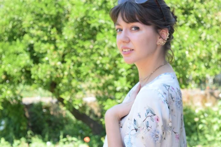 look flower shirt 062