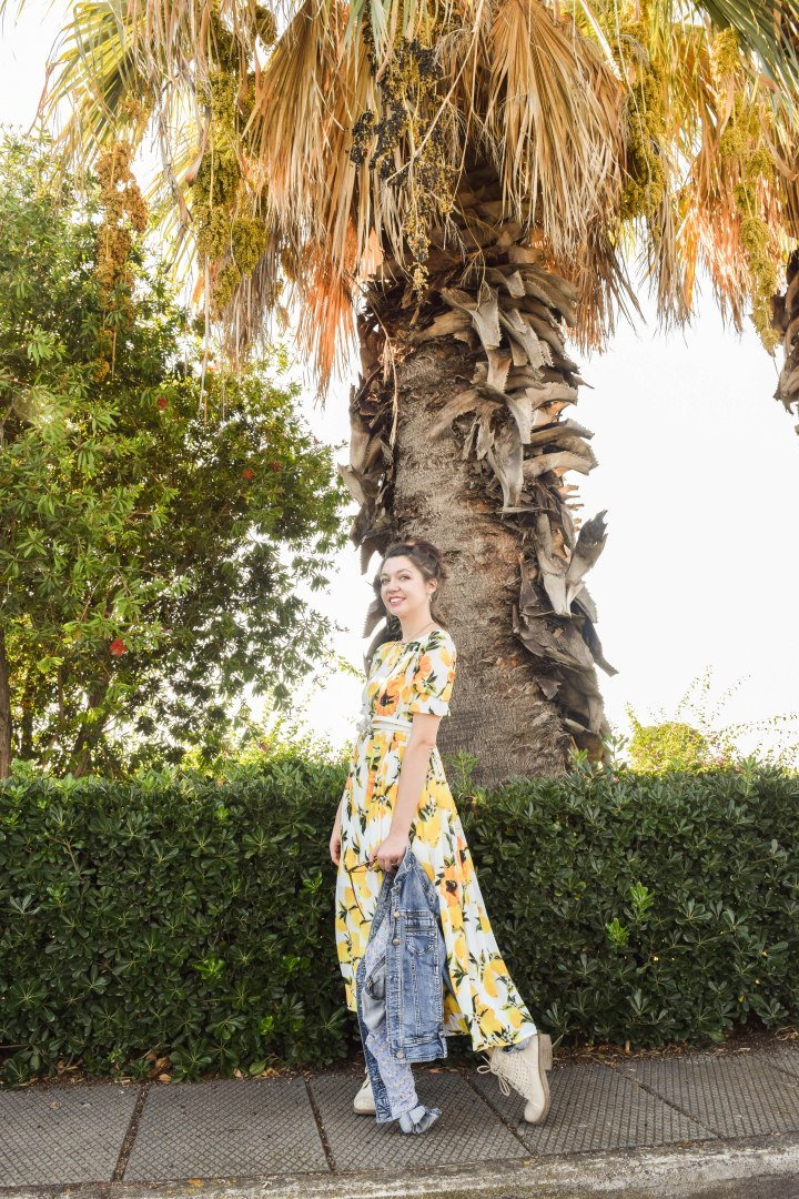 The lemon dress