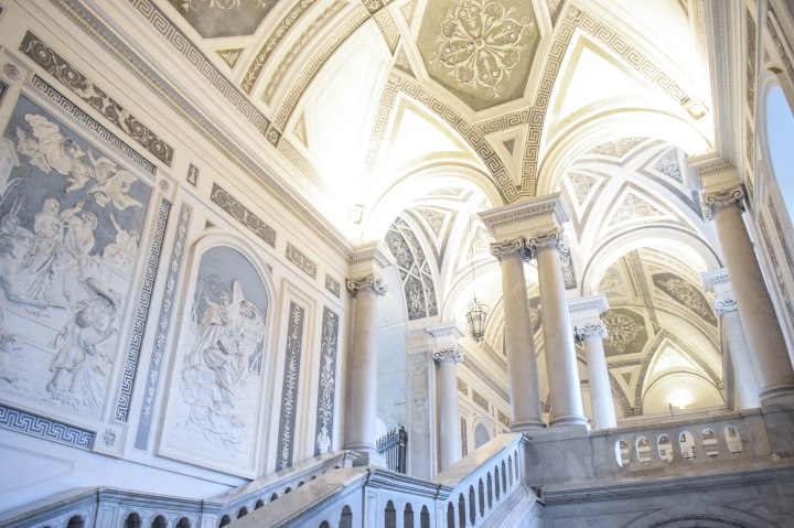 Catania monastery + disney ornaments 104