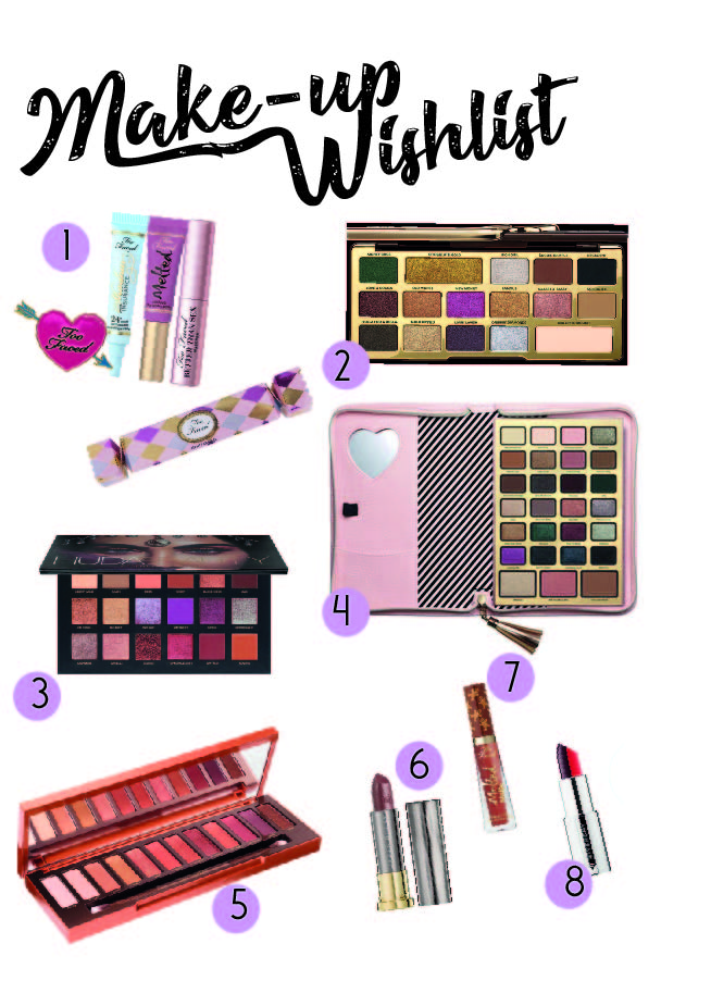 Make up wishlist
