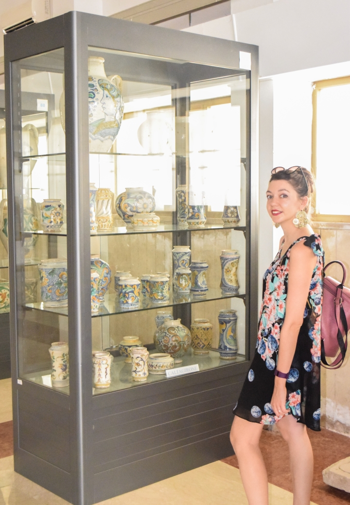 Ceramic museum at Caltagirone and Villa romane del Casale.