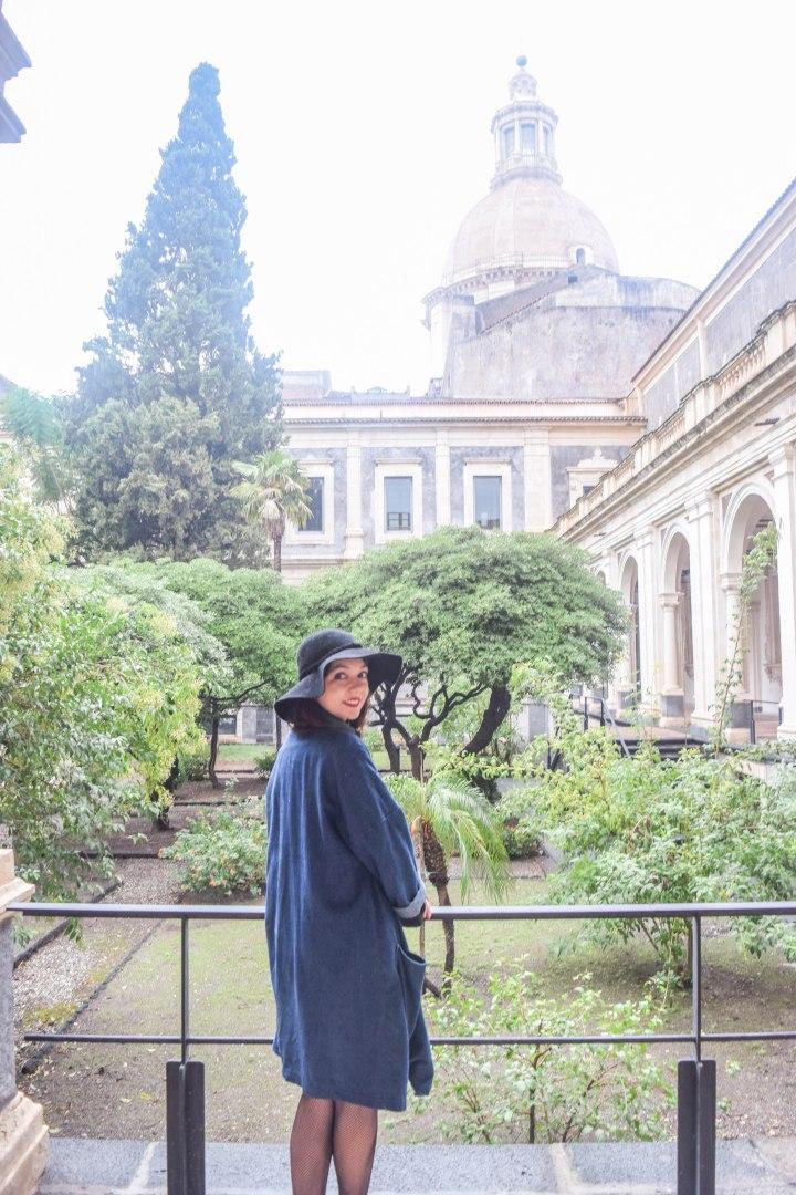 Catania monastery + disney ornaments 096
