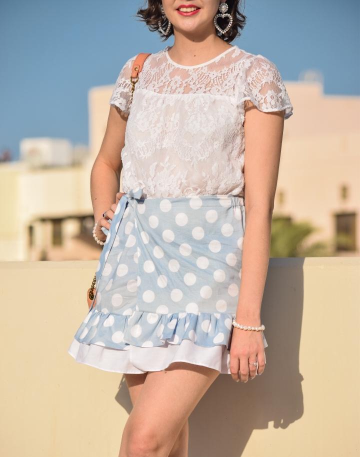diy dots skirt_0020