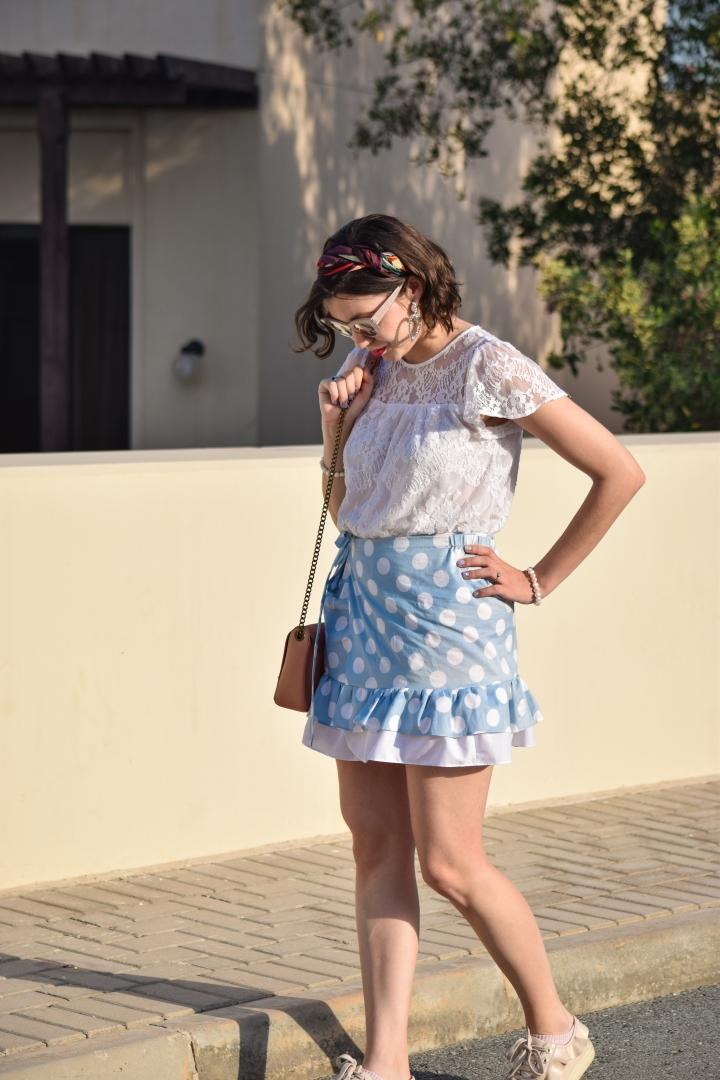 diy dots skirt_0094